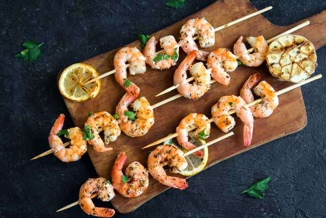 Foods rich in Vitamin B12 Shrimp