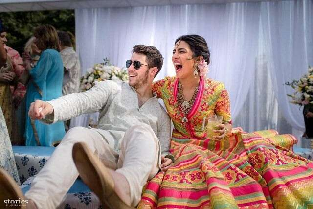 Nick Jonas and  Priyanaka Chopras wedding