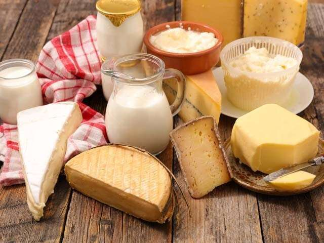 Include Dairy Products Balanced Diet Chart