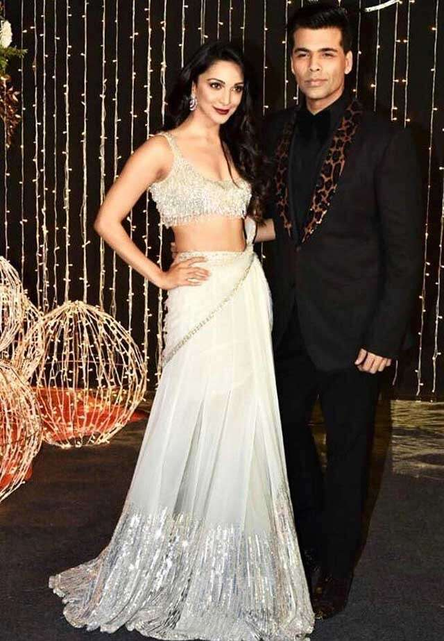 Karan Johar and Kiara Advani