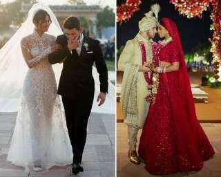 You can't miss Nick Jonas and Priyanka Chopra's wedding photos