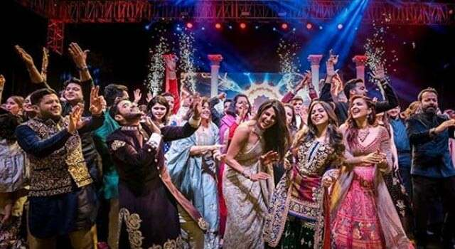 Nick Jonas and Priyanka Chopra's sangeet