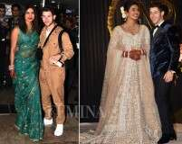 All the looks from the #NickYanka wedding