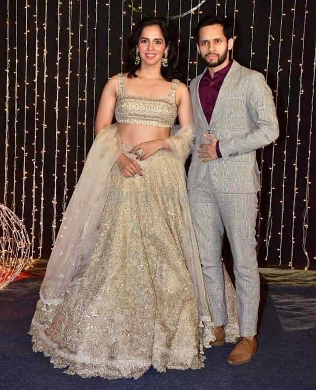Saina Nehwal with husband Parupalli Kashyap