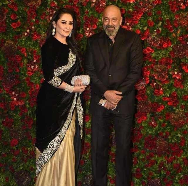 Sanjay Dutt and wife Maanayata