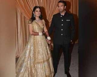 Photos of Isha Ambani and Anand Piramal's wedding reception