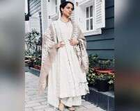 Kangana Ranaut's love for soft colours