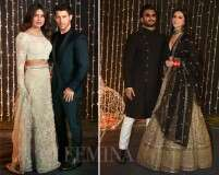 Best of fashion from #NickYanka's star-studded Mumbai reception