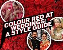 Colour red at weddings: A style guide