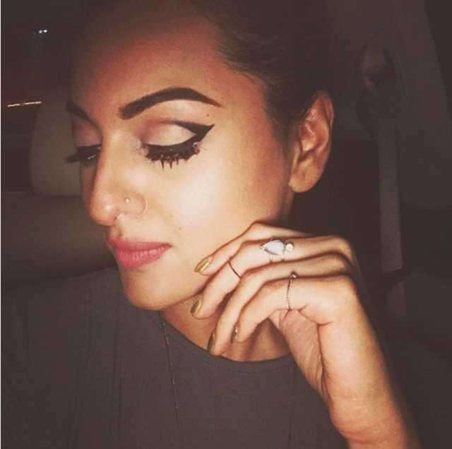 eye makeup Sonakshi Sinha