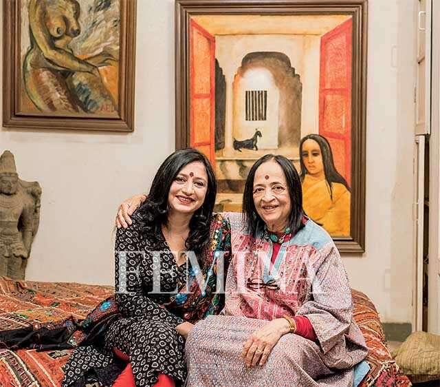 Anjolie Ela Menon and Vimmi Indra
