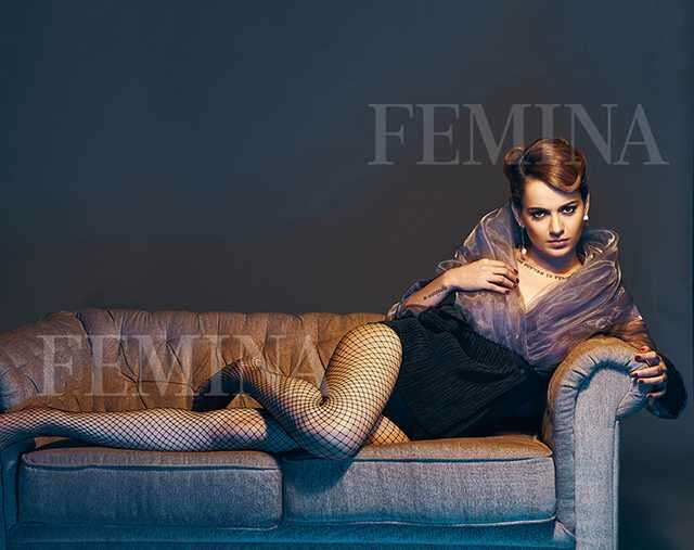 Kangana Ranaut in Femina issue