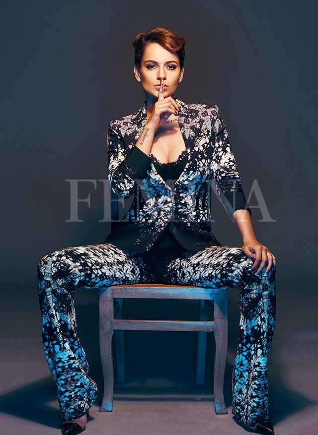 Kangana Ranaut in Femina issue