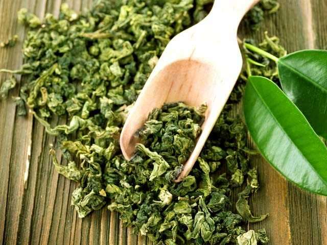 Green tea rinse