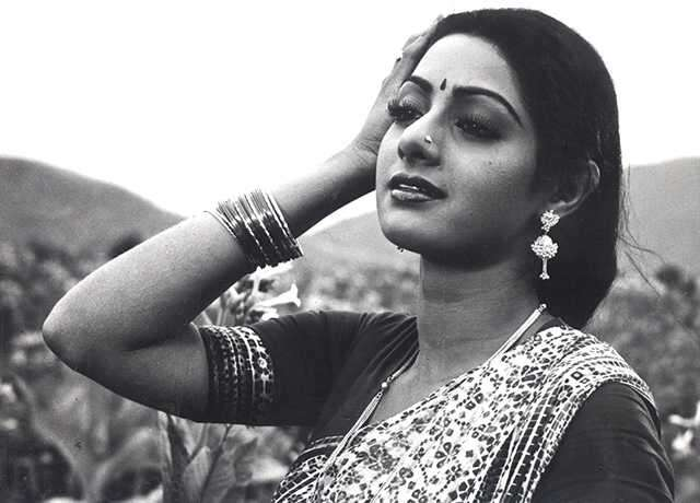 Sridevi was the first female superstar of India