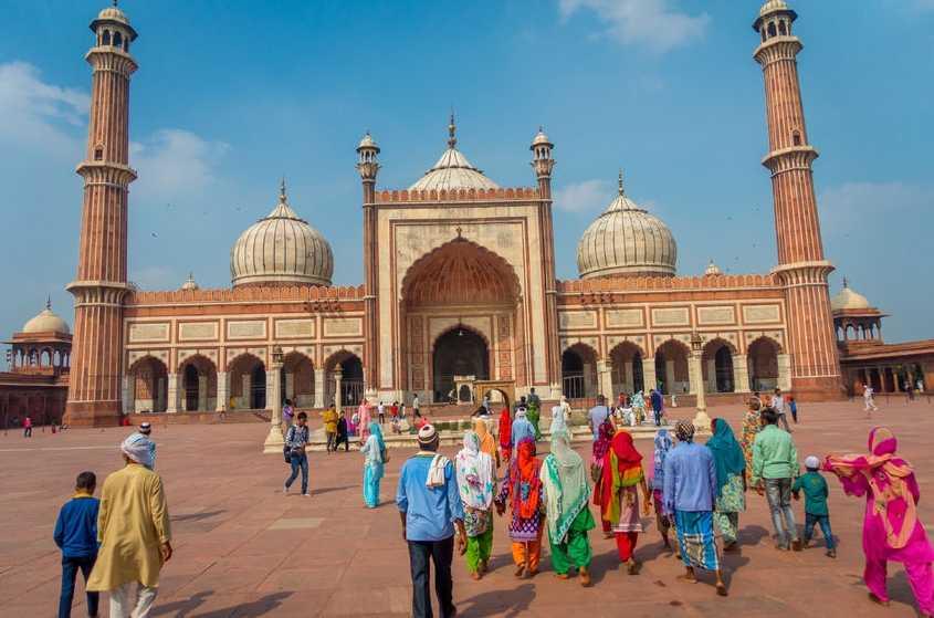 Jama Masjid-Delhi
