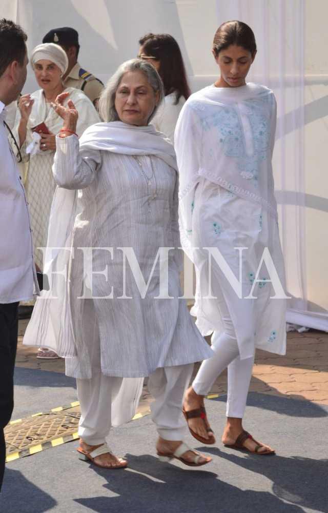 Jaya Bachchan and Shweta Bachchan Nanda