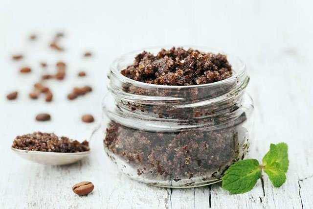 Make A DIY Coffee Scrub