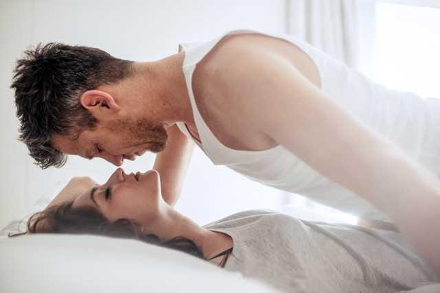 Leisurely morning sex