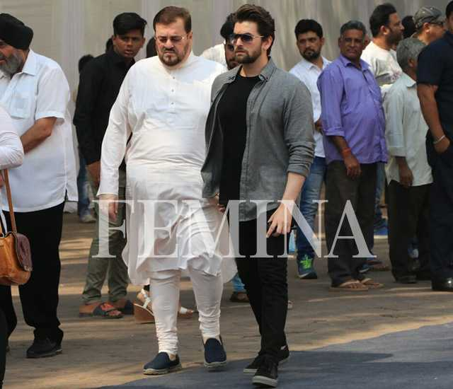 Neil Nitin Mukesh and Mukesh
