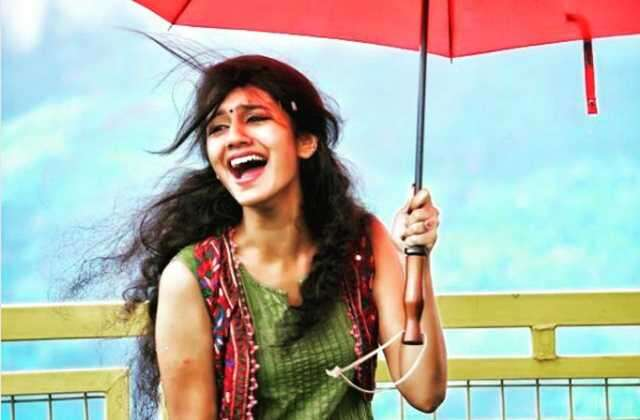 Dreamy photos of Priya Prakash Varrier