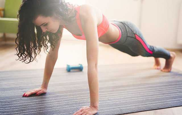 Push ups to reduce arm fat