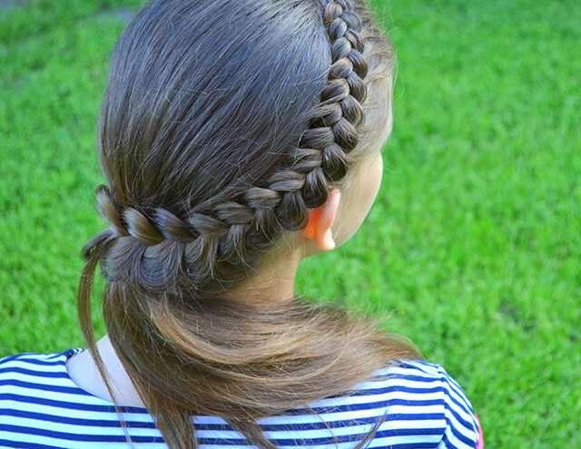 The side braid