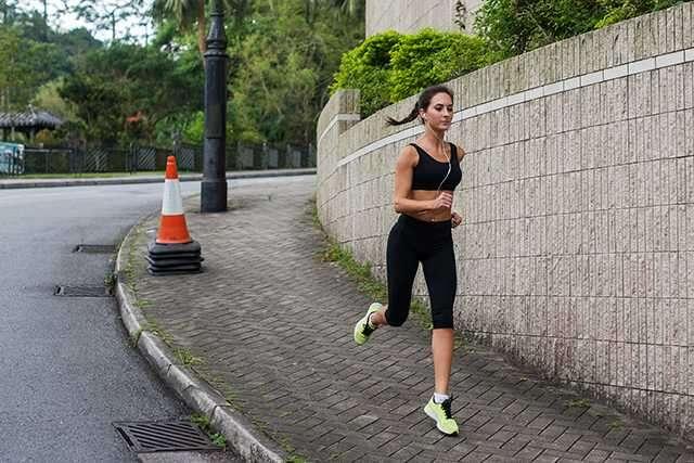 Running woman Cardio