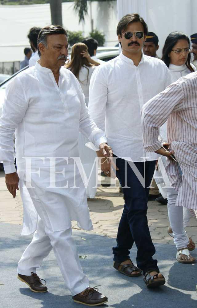 Suresh Oberoi and Vivek Oberoi
