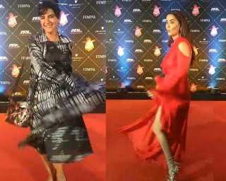 All the fun that went down on the NFBA red carpet!