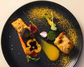 Recipe: kasundi salmon tikka with pumpkin pureé