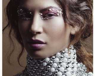 Pearl-inspired makeup is the haute new thing in beauty