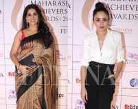Celebs at Maharashtra Achievers' Awards 2018 red carpet