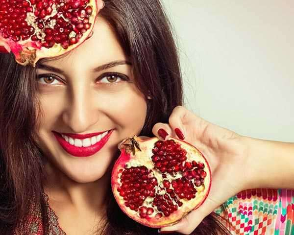 Image result for pomegranate for Maintains skin health