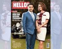 Adar and Natasha Poonawalla are on HELLO! India's cover