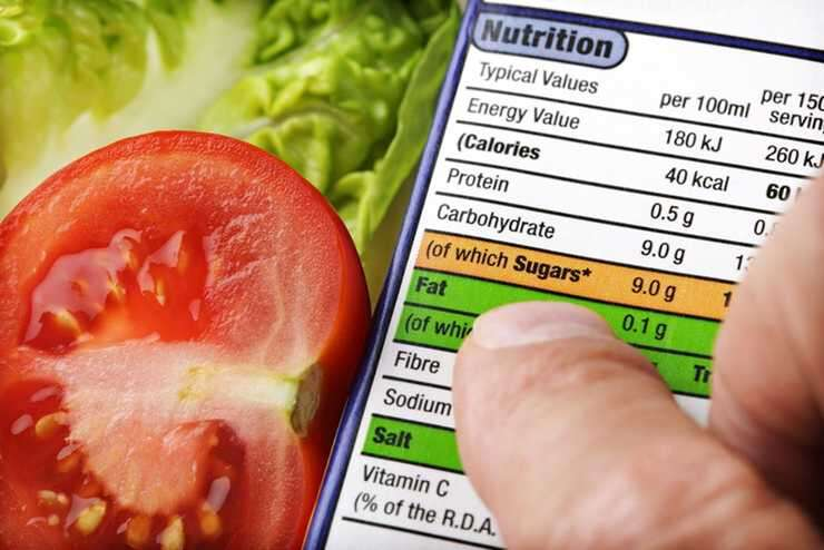 Read labels on food products with care