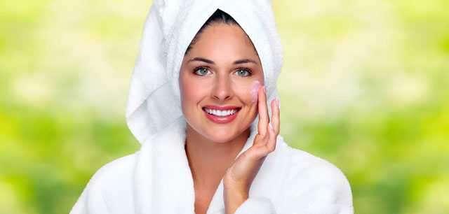 Moisturise skin daily