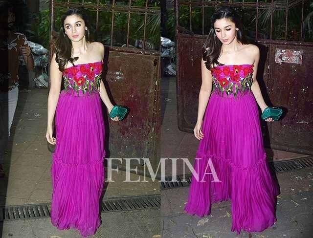 Alia Bhatt in Dolce & Gabbana