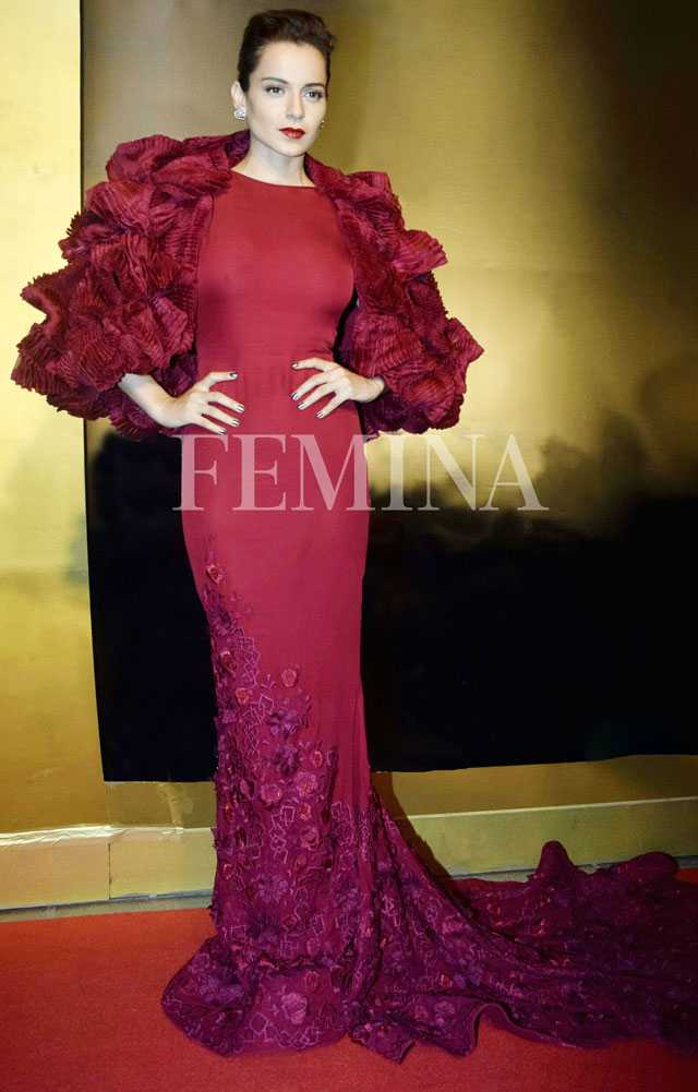 Kangana Ranut in Tony Ward couture