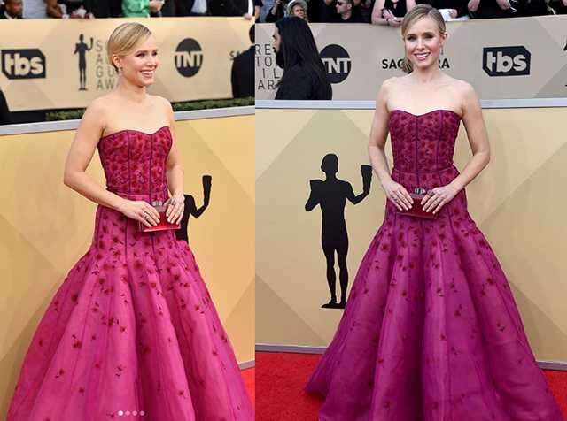 Kristen Bell in Yanina Couture