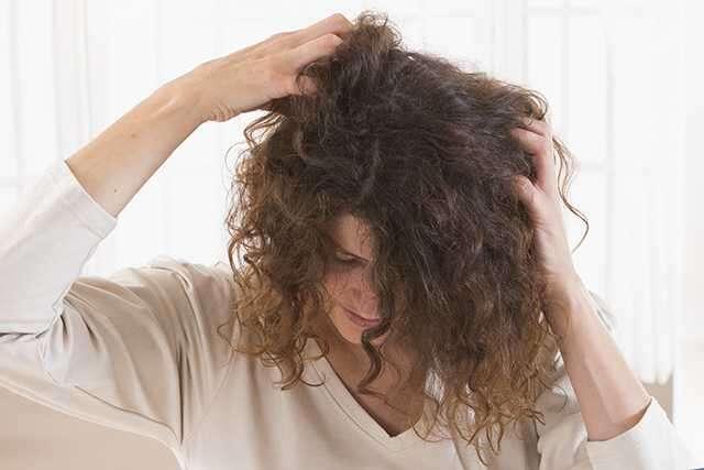 Using alcohol-based hairsprays