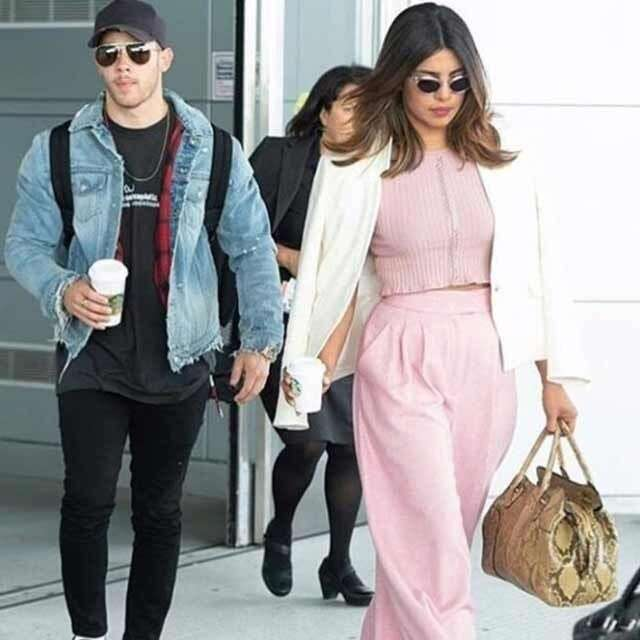 Priyanaka Chopra and Nick Jonas