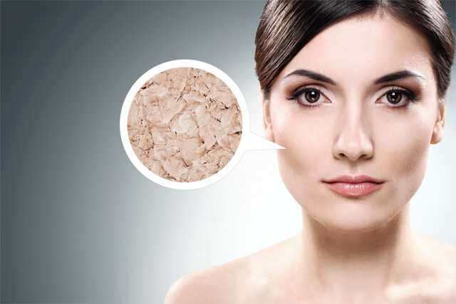 Dry skin use face mask for beauty in Monsoon