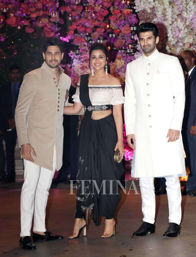 Sidharth Malhotra, Parineeti Chopra and Aditya Roy Kapoor