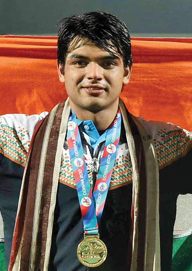 Femina's Men of the Year Neeraj Chopra