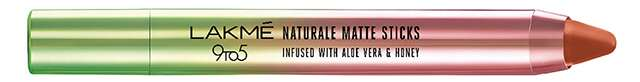Lakmé 9to5 Naturale Matte Lipsticks