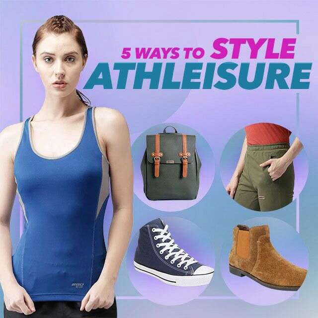 5 ways to style athleisure