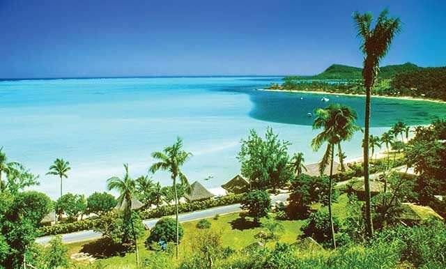 Bora Bora, France location for beachside honeymoon