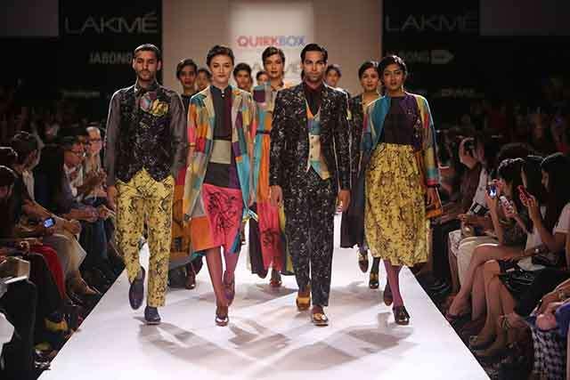 Quirk Box in lakme fashion week since 2013