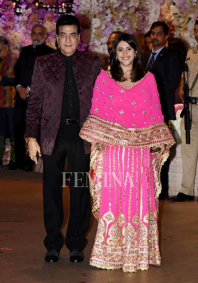 Ekta Kapoor and Jeetendra
